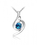 Beautiful Lucky Angel Pendant Crystal Necklace Only $1.59 Shipped!