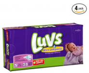 LUVS Ultra Leakguard Diapers 152ct. Only $7.08 Shipped! (Reg. $32.08!)