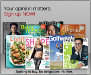FREE Magazine Subscriptions (Shape,Better Homes & Gardens, Martha Stewart Living, and More)!