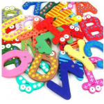 Funky Fun Colorful Letter Fridge Magnets ONLY $3.98 Shipped!