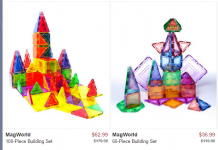 MagWorld Building Sets Up to 65% Off!