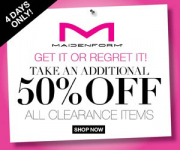 Maidenform: Extra 50% Off Clearance + FREE Shipping= Bras for $4.99 Shipped!