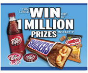 Mars Chocolate Road Trip Game-1 Million Prizes!! Win Gift Cards, Candy, Free Dr. Pepper, and More!