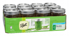 Ball Wide-Mouth Mason Jars with Lids and Bands Only $9.87 Shipped! (reg. $20.99)