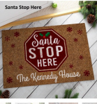 Jane Personalized Holiday Doormats on sale for $13.99 (Reg:$24.45)
