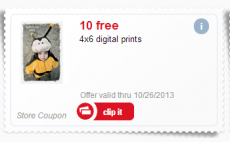 10 FREE 4×6 Prints from Meijer!