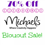 Michael's: Up to 70% Off Clearance Blowout Sale! TODAY ONLY