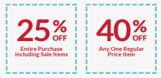 Michael's: Save 25% off of Your Entire Purchase + 40% off One Item!