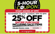 Michael's 25% off Entire Purchase – Today Only!