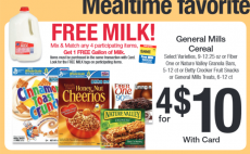 HOT! FREE Milk at Kroger With Cereals, Fruit snacks or Granola Bars Purchase + Awesome Deal Scenarios!!!