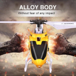 Alloy RC Helicopter with Gyro Crash Resistance $19.99 (REG $84.99)