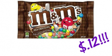 M&M's Singles Only $.12 Each at CVS!