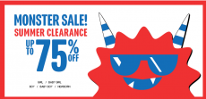 The Children's Place Up to 75% off Monster Sale + 20% off Coupon Code!
