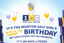 Morton 100th Birthday Instant Win Game! (Win a Keurig, SodaStream, and More!)