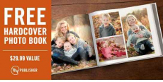 FREE 8×8 Hard Cover Photo Book from Shutterfly!