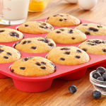HOT! OvenArt Silicone Bakeware 12 Cup Nonstick Muffin Tin Only $.99 (Reg. $29.99!)
