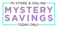 Kohl's: Mystery Savings – Get up to $15 Off + an Extra 15% off!