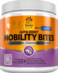 Zesty Paws Mobility Bites Hip & Joint Support $24.97 (REG $49.97)