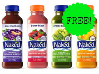 FREE + $.50 Moneymaker on Naked Juice at Walgreens!