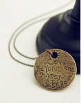 Love Beyond the Moon and Stars Necklace Only $3.24 Shipped!