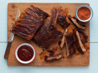Recipe: The Neely's Memphis-Style Hickory-Smoked Beef and Pork Ribs