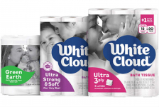 White Cloud Bath Tissue Only $0.02 per Square Foot at Walgreen's!