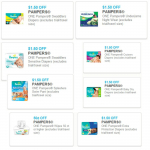 New Pampers Coupons – Save $11!