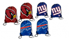 Two-Pack of NFL Drawstring Backpacks Only $13.99! (reg. $25.98)