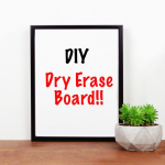 Duck Brand Dry Erase Liner Adhesive Laminate, Writeable Surface – $4.00(REG$10)