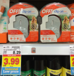 FREE OFF! Clip-On Mosquito Repellent at Kroger!