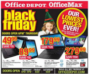 Office Depot & Office Max Black Friday Ad Preview!