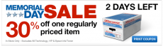 Office Depot: Memorial Day Sale + 30% Off Coupon