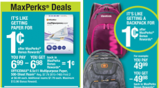 1¢ Duracell Batteries, Multi-Purpose Paper, Backpacks,and More at Office Max!
