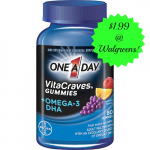 One-A-Day Vitamins Only $1.99 at Walgreens! (Reg. $10.49!)