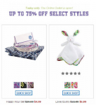 Vera Bradley Outlet Store Sale, Up to 75% Off Retail Prices!