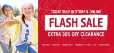 Osh Kosh B'Gosh- Extra 30% off Clearance-TODAY ONLY!