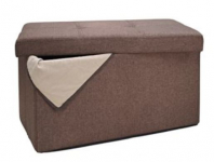 Kohl's: Folding Storage Ottoman & Microfiber Pillow Only $27.99 Shipped (Reg. $112!)