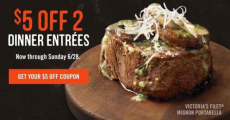Outback Steakhouse-NEW $5 off Coupon!!