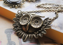Vintage Owl Necklace Only 63¢ Shipped!