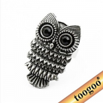 Vintage Retro Adjustable Owl Ring Only $1.10 Shipped!