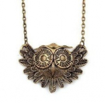 Vintage Owl Necklace Only $.55 Shipped!
