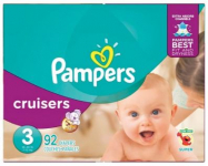 Pampers Super Pack Diapers Only $16.99 (reg $25) at Target!