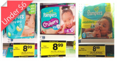 Pampers Diapers Just $5.49 at Rite Aid (reg. $8.99)