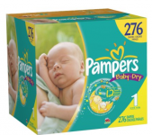 Amazon: $25 Off Diapers Coupon – Only $0.04 Per Diaper!