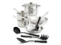Bella 12-Piece Stainless Steel Cookware Set Only $29.96 (Reg $120) + FREE Pickup!