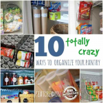 10 Crazy Ways to Organize your Pantry!