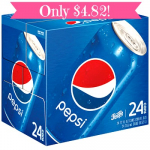24 Packs of Pepsi Only $4.82 at Target!