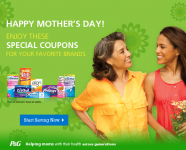 Special Coupons from P&G for Mother's Day – Cover Girl, Gillette and More!