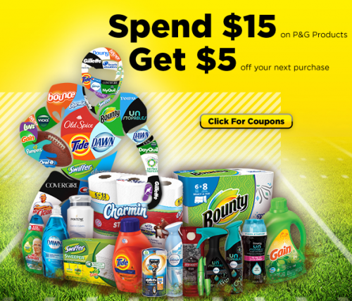 Dollar General Spend 15 On P G Products Get 5 On Your Next Purchase Mojosavings Com