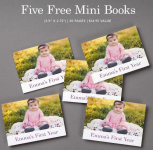 5 FREE Mini Photo Books at MyPublisher (Just Pay Shipping)!